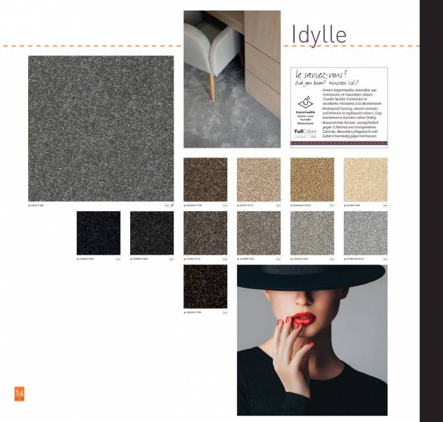 Valise Excellence 11 - Idylle