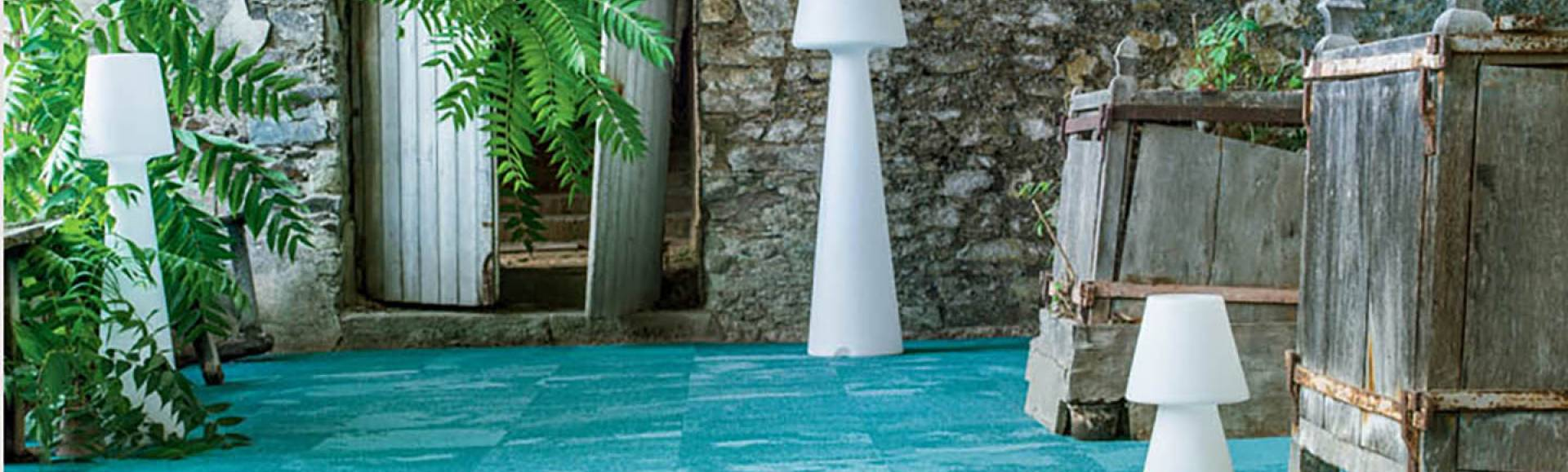Collection Infini colors moquette dalle Stone age