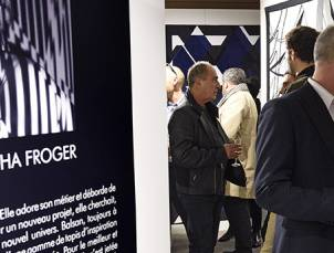 Eröffnungsabend für den neuen Showroom in Paris