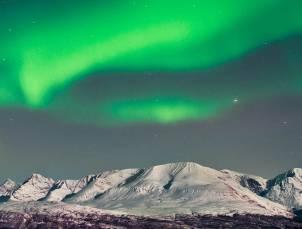 Inspiration polaire deco aurore boreale