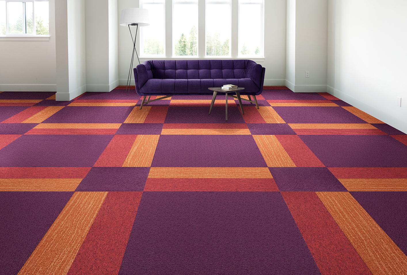 Konfigurator zum Verlegen von Teppichbodenfliesen