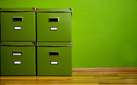 Inspiration Farben Dekoration Aufbewahrungskisten grün